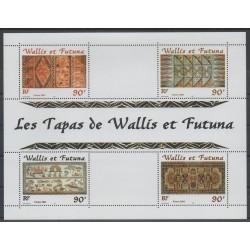 Wallis et Futuna - Blocs et feuillets - 2001 - No BF 10 - art divers