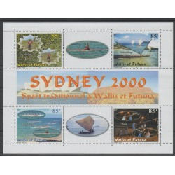 Wallis and Futuna - Blocks and sheets - 2000 - Nb BF 9 - various sports