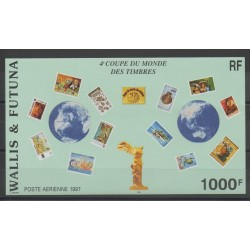 Wallis and Futuna - Blocks and sheets - 1997 - Nb BF 7 - stamps on stamps