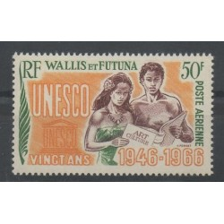 Wallis and Futuna - Airmail - 1966 - Nb PA 28