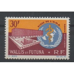 Wallis and Futuna - Airmail - 1966 - Nb PA 27