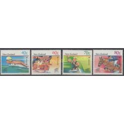 Nouvelle-Zélande - 1988 - No 996/999 - Jeux olympiques d'été