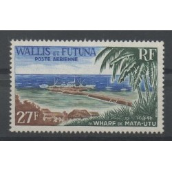 Wallis et Futuna - Poste aérienne - 1965 - No PA23 - sites
