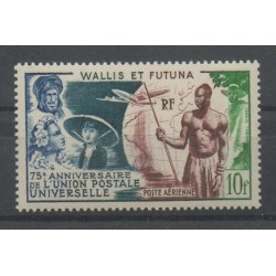 Wallis and Futuna - Airmail - 1949 - Nb PA 11