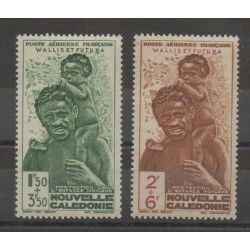 Wallis and Futuna - Airmail - 1942 - Nb PA 1/PA 2