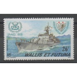 Wallis and Futuna - 1988 - Nb 384 - boats