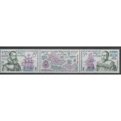 Wallis et Futuna - 1986 - No 344/346 - bateaux