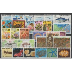 Wallis and Futuna - Complete year - 1979 - Nb 226/253 - BF 2