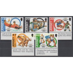 Jersey - 1994 - Nb 648/652 - Summer olympics