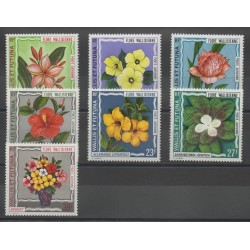 Wallis and Futuna - Airmail - 1973 - Nb PA 49/PA 55 - flowers