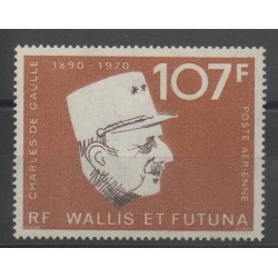 Wallis and Futuna - Airmail - 1973 - Nb PA 48 - De Gaullle