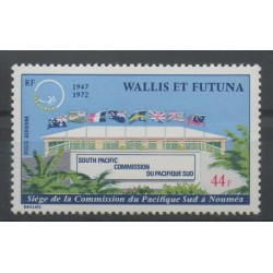 Wallis and Futuna - Airmail - 1972 - Nb PA 41 - monuments