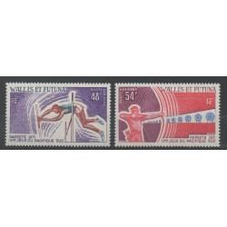 Wallis and Futuna - Airmail - 1971 - Nb PA 39/PA 40 - various sports
