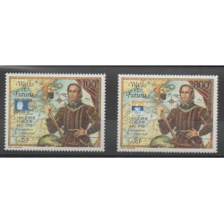 Wallis and Futuna - Airmail - 1992 - Nb PA 173/PA 174 - Christophe Colomb