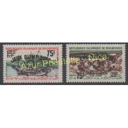 Mauritania - 1962 - Nb 154C/154D - Summer olympics