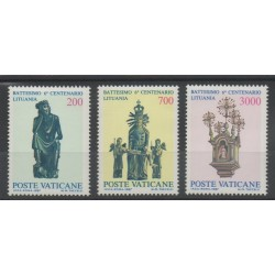 Vatican - 1987 - No 806/808 - art divers