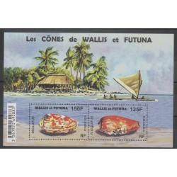 Wallis et Futuna - Blocs et feuillets - 2016 - No F 847 - coquillages