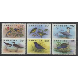 Barbuda - 1976 - Nb 251/256 - birds