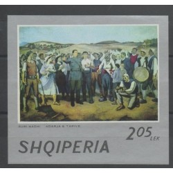 Albanie - 1973 - No BF 23 - peinture