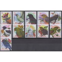 Micronésie - 2002 - No 1181/1191 - Oiseaux