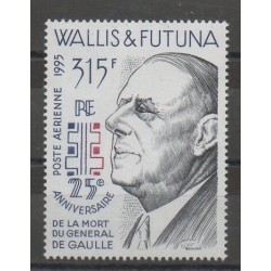 Wallis and Futuna - Airmail - 1995 - Nb PA 190 - De Gaullle