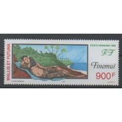 Wallis and Futuna - Airmail - 1999 - Nb PA 213 - paintings