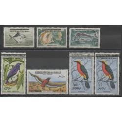 Mali - 1961 - No 10/12 - PA5/PA8 - oiseaux