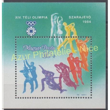Hongrie - 1985 - No BF 177 - Jeux olympiques d'hiver