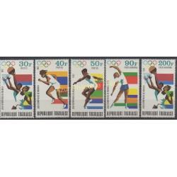 Togo - 1972 - No 747/749 - PA 182/ PA 183 - Jeux olympiques d'été