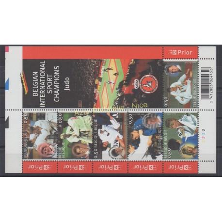 Belgique - 2005 - No 3392/3397 - Sport
