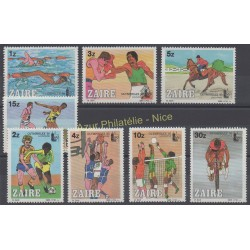Zaïre - 1985 - No 1194/1201 - Sport