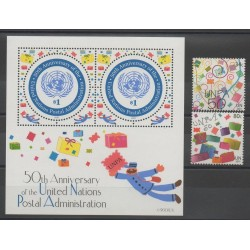 Nations Unies (ONU - New-York) - 2001 - No 864/865 - BF 22