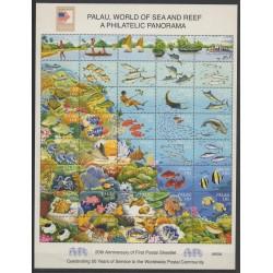 Palau - 1986 - No 92/131 - vie marine