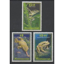Montserrat - 1991 - No 768/770 - animaux