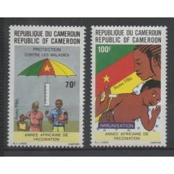 Cameroun - 1986 - No 808/809 - santé ou croix-rouge
