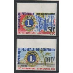 Cameroun - 1967 - No 436/437 ND