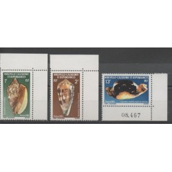 New Caledonia - 1981 - Nb 446/448 - Shells