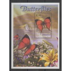 Micronésie - 2002 - No BF 115 - Papillons