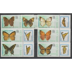 Vietnam - 1989 - No 949/955 - Papillons