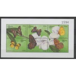 Bhutan - 1999 - Nb 1387/1392 - Butterflies