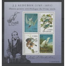 France - Blocks and sheets - 1995 - Nb BF 18 - Birds