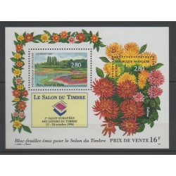 France - Blocks and sheets - 1994 - Nb BF 16 - Flowers