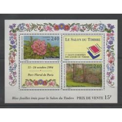 France - Blocs et feuillets - 1993 - No BF 15 - Fleurs