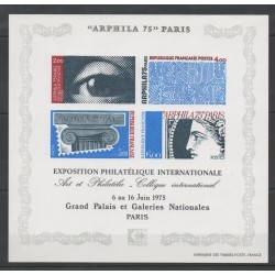 France - Blocks and sheets - 1975 - Nb BF 7 - Luxury proof -