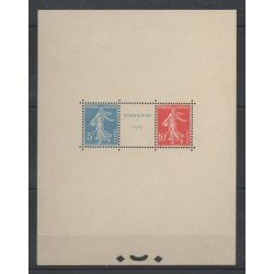 France - Blocks and sheets - 1927 - Nb BF 2 - Exhibition