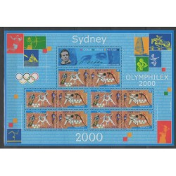 France - Blocks and sheets - 2000 - Nb BF 31A - Summer Olympics