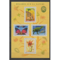 France - Blocks and sheets - 2000 - Nb BF 31 - Animals