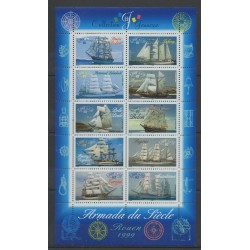 France - Blocks and sheets - 1999 - Nb BF 25 - Boats