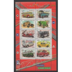 France - Blocks and sheets - 2003 - Nb BF 63 - Cars