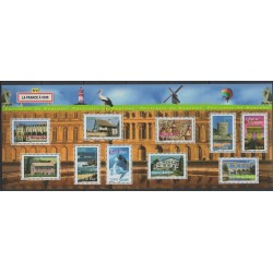 France - Blocks and sheets - 2003 - Nb BF 61 - Monuments